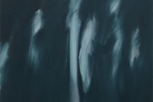 Sans titre, 2014, tempera à l'œuf sur lin, 172 x 144 cm