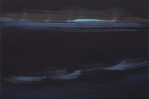 Sans titre, 2014, tempera à l'œuf sur lin, 72 x 63 cm