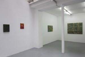 «Les orties», 2014, huile sur toile et corde, 40 x 30 cm / «Divan», 2014, huile sur toile, 35 x 27 cm / «Lisant Gilberto Freyre» / «La danse des veuves à Yalta»
