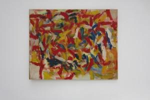 sans titre, 1964, huile sur papier marouflé sur toile, 108 x 137 cm