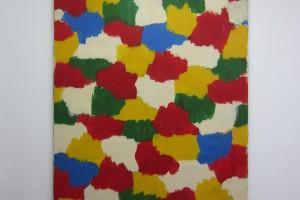 sans titre, 1966, huile sur toile, 244 x 208 cm
