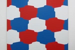 sans titre, 1974, acrylique sur toile, 182 x 170 cm