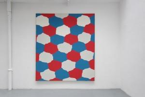 sans titre, 1967, acrylique sur toile, 237 x 209 cm