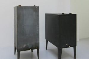 SIMON BOUDVIN : CUVES 03 (Wiencourt-l'Équipée) – 2013 – 169 x 75 x 65 cm / 144 x 106 x 60 cm