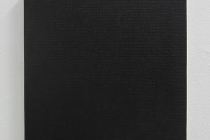 Points noirs #4, 2013 – acrylique sur toile, 20 x 20 cm