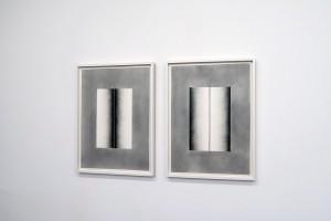 Sans titre (diptyque), 2015 – mine graphite sur papier – 2x 76 x 56 cm
