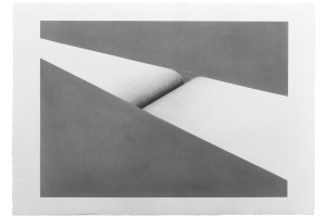 Sans titre, 2015, mine de graphite sur papier, 63 x 90 cm