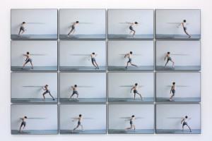 sans titre (lignes), 2011 – photographies numériques contrecollées sur dibond – 36,6 x 56 cm