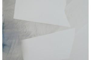 « Dessin #G5915 », 2015, acrylique sur papier, 147 x 103 cm