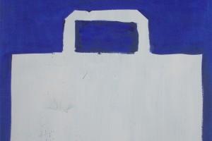 «Shopping Bag», 2004, huile sur toile, 110 x 80 cm
