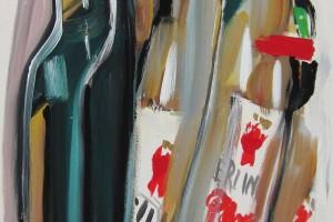 «Bier (6 pack)», 2005, huile sur toile, 70 x 50 cm