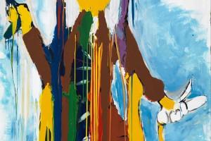 «Pikt Narcisse», 2010, huile sur toile, 180 x 150 cm