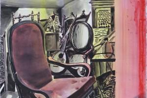 Kaleidoscope #01, 2015, aquarelle sur papier, 74,5 x 55 cm