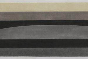 Vietnam Pile #3 – 2013 pastel sur papier – 27 x 122,5 cm