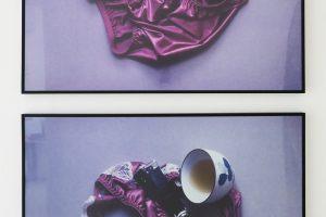 Vanité cinématographique, 1997, photographies couleur, diptyque, 50 x 65 cm chacune