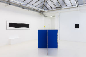 La bande, 2017 / Stabile, 2017 / Carré maximum, 2017 – © Jean Nicoué