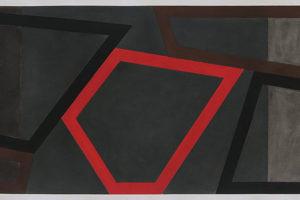 Forms and Rhythm Sketch #1, 2014, pastel sur papier, 40,5 x 152 cm