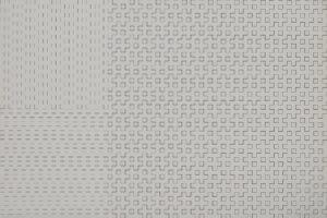 3 et 3 horizontal, 3 et 3 verticales, 1976, ex. 67/100, sérigraphie, 50 x 65