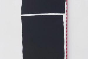 Varia, 2018, acrylique sur tissu, 115 x 45 cm