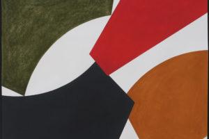 Wall Forms #17 (Naples), pastel gras sur papier, 75 x 94 cm