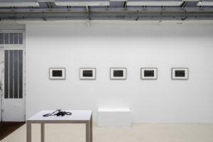 Vue de l'exposition « Matrice » (26.10-23.11 2019)