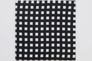WEB – 2019, acrylique sur tissu, 100 x 100 cm