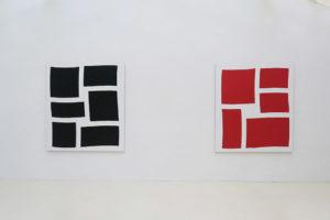 Séquence – 2018, acrylique sur tissu, 180 x 160 cm / Séquence – 2018, acrylique sur tissu, 180 x 160 cm