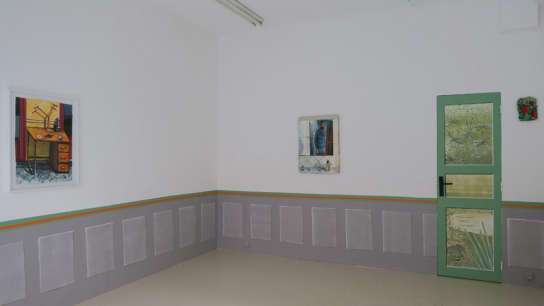 Sans titre, 2020, huile sur toile, 70 x 50 cm